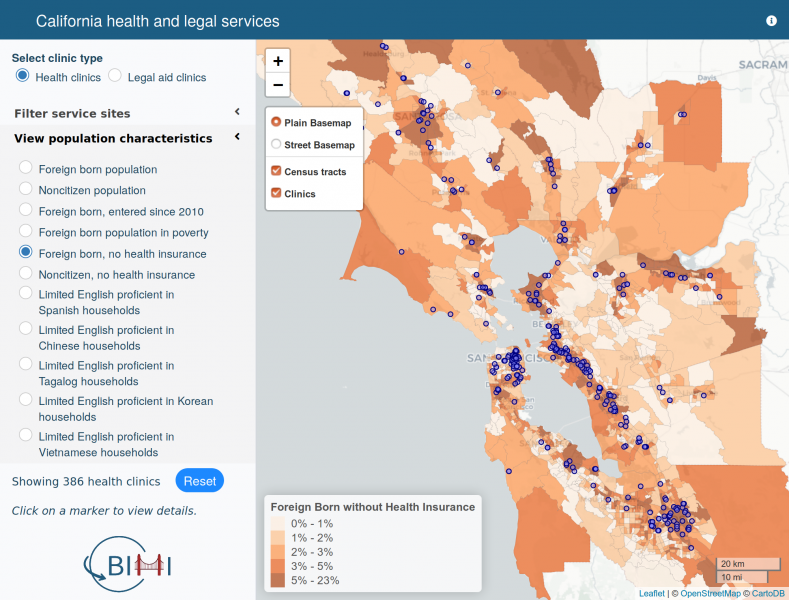 Mapping Spatial Inequality Berkeley Interdisciplinary Migration Initiative The total area is around 56 000 km2. mapping spatial inequality berkeley